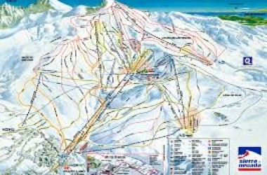 property for sale in South Spain sierra nevada map ski resort